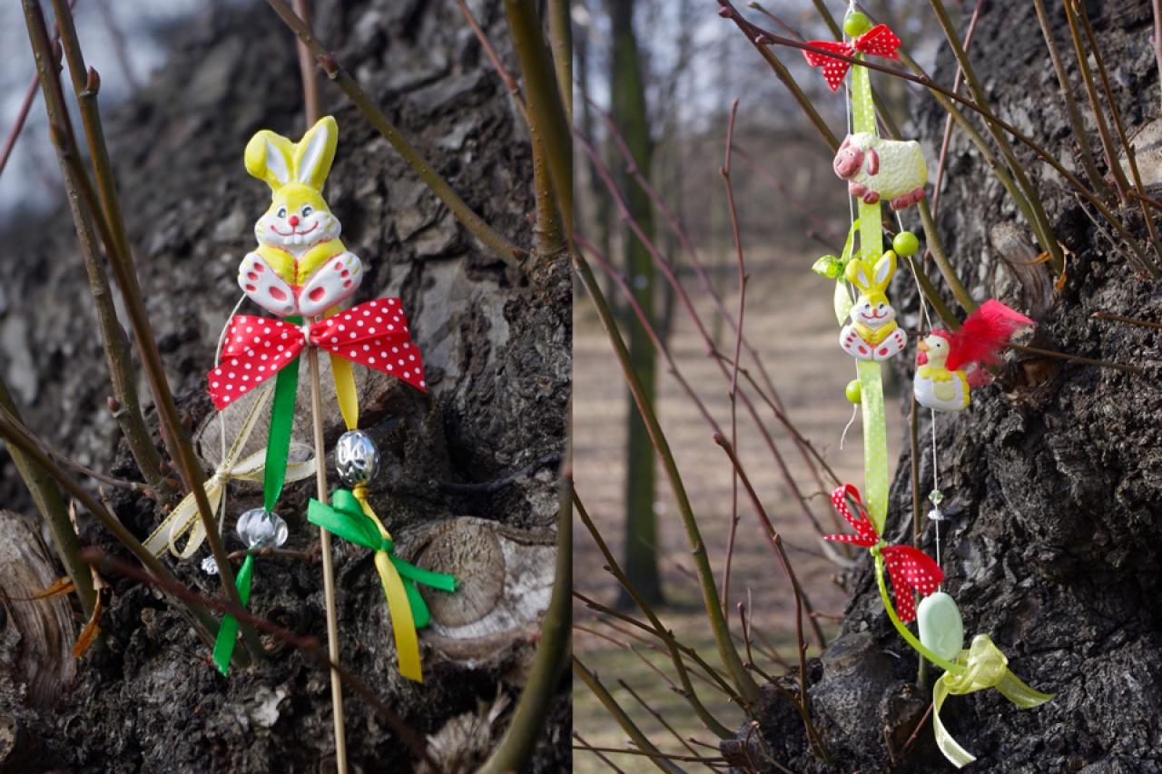 Stroiki Wielkanocne i świąteczne jajka