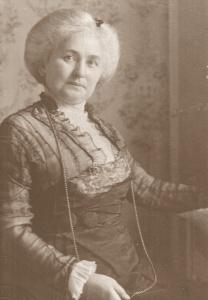 Fanny Lamprecht z domu Schon (1857-1946)