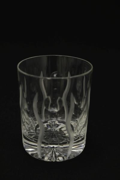 108a. Szklanka z zestawu 4 szklanek, proj. dekoru Krzysztof Batkowski, 2000-2010X