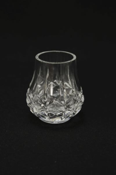 112. Szklanka z zestawu 2 szklanek, proj. Zofia Piaskiewicz, 1977-1980
