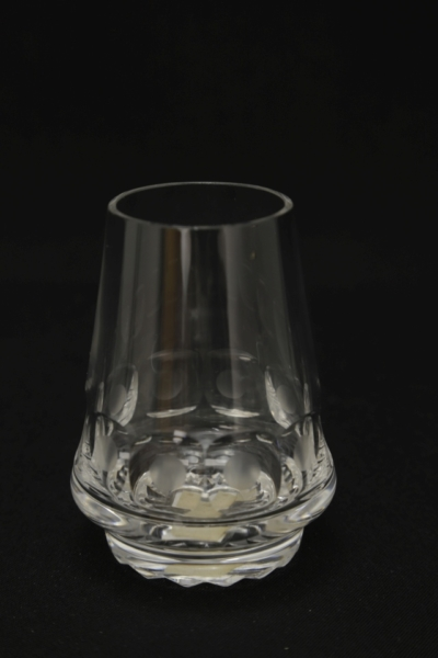113. Szklanka z zestawu 2 szklanek, proj. Maria Słaboń, 1971-1977