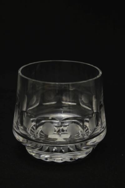 113a. Szklanka z zestawu 2 szklanek, proj. Maria Słaboń, 1970-1977
