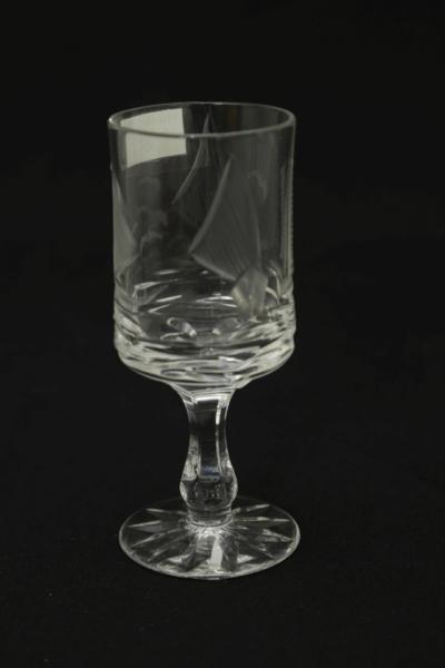 40b. Kieliszek z zestawu 6 form, proj. Zofia Szmyd-Ścisłowicz, 1979-1984
