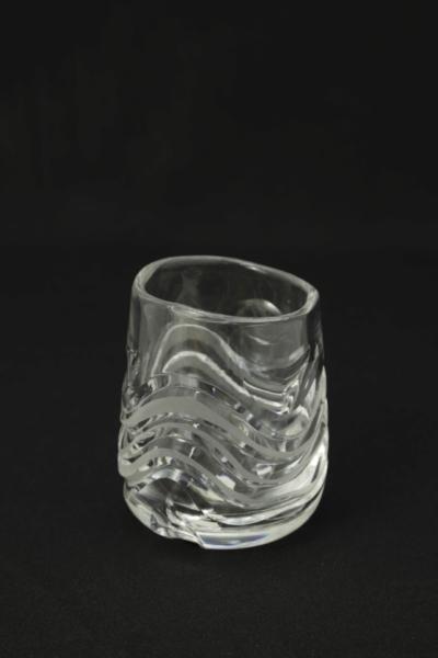 6a. Szklanka z zestawu 5 form, proj. Maria Słaboń, 1975-1980