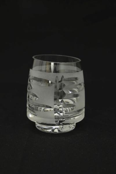 70a. Szklanka z zestawu 4 form, proj. Jóżef Podlasek, 1980-1985