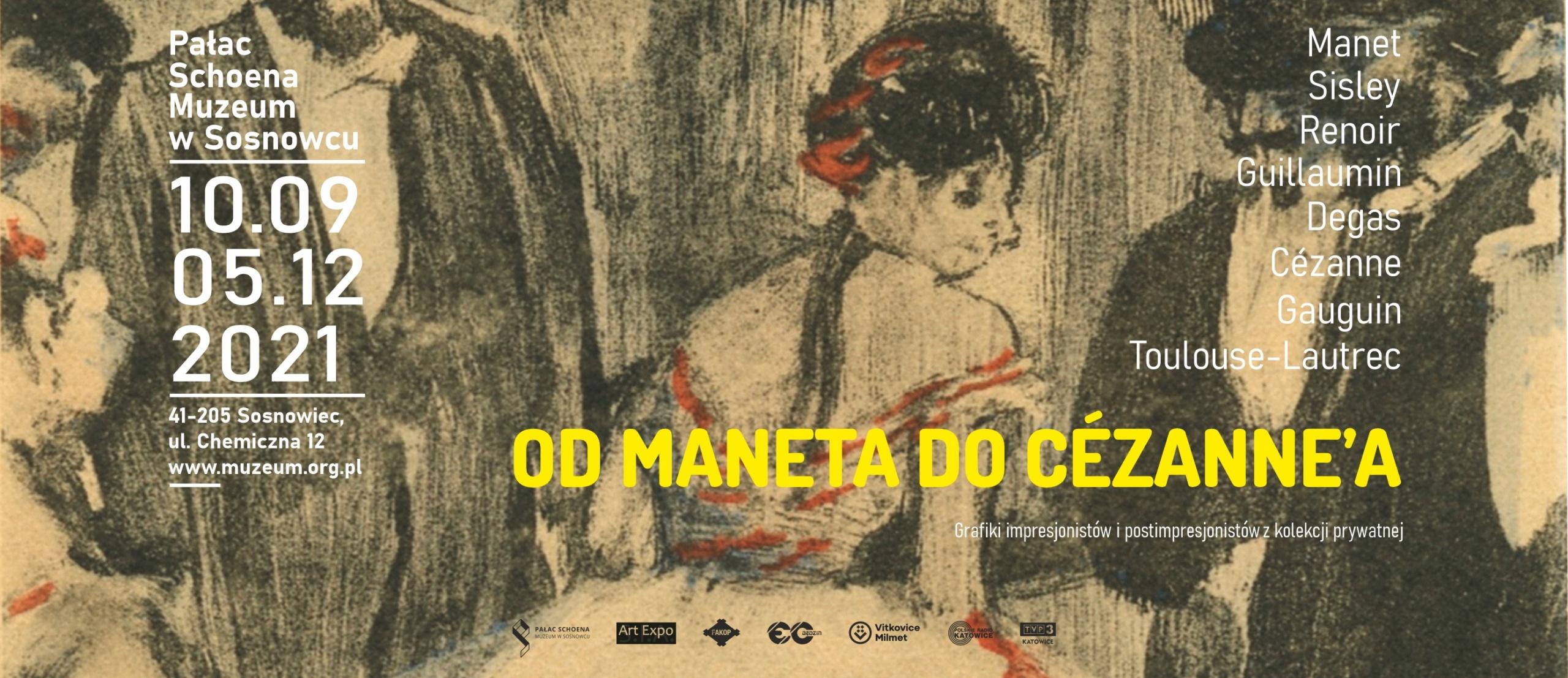 Od Maneta do Cézanne'a.Grafiki impresjonistów i postimpresjonistów z kolekcji prywatnej.