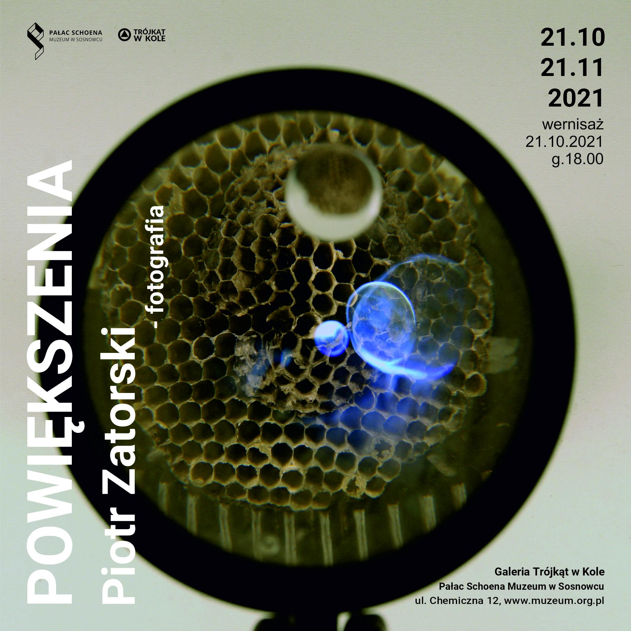 Wystawa w Galerii TwK: Piotr Zatorski – Powiększenia